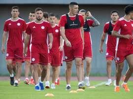 Paraguay y Eslovaquia jugarán un amistoso en octubre. EFE
