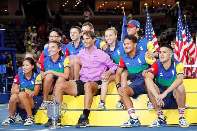 En la imagen el tenista español, Rafael Nadal,EFE/JOHN G. MABANGLO
