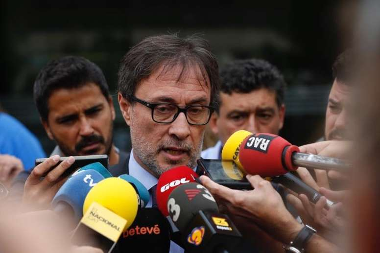 Benedito thinks Laporta is the big favourite for the presidency. EFE