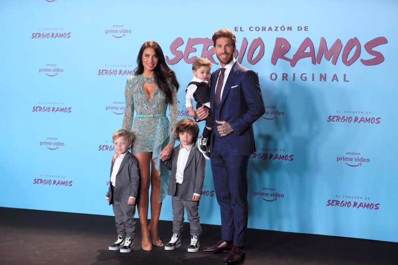 Sergio Ramos pourrait être papa pour la quatrième fois. EFE