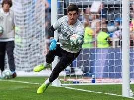 Thibaut Courtois nunca duvidou de seu potencial. EFE/Rodrigo Jiménez