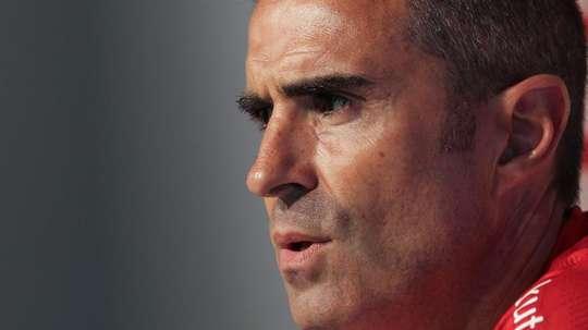 Garitano já se decidiu. EFE/Miguel Toña