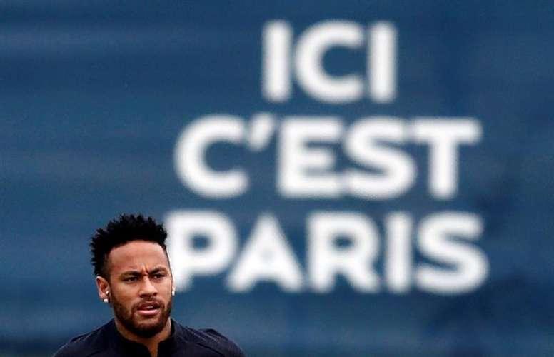 Neymar jouera une saison de plus au PSG. EFE