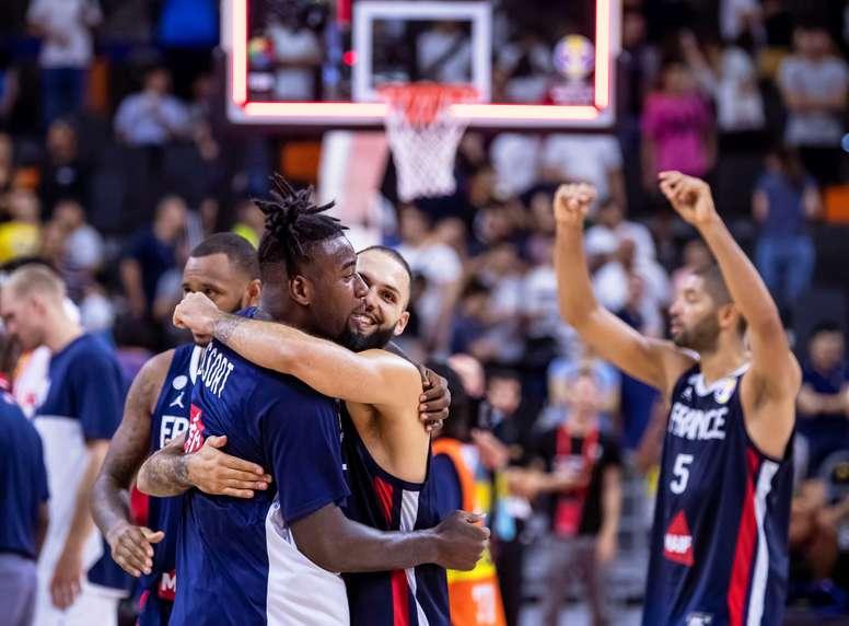 89-79. Francia elimina al campeón EE.UU. y jugará semifinales con Argentina