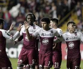 Victoria 3-1 ante San Carlos. EFE