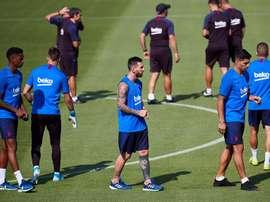 Barcelona, broken. EFE