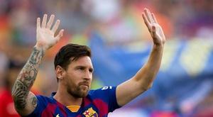Scola défend et rend hommage à Messi.  EFE/Enric Fontcuberta/Archivo