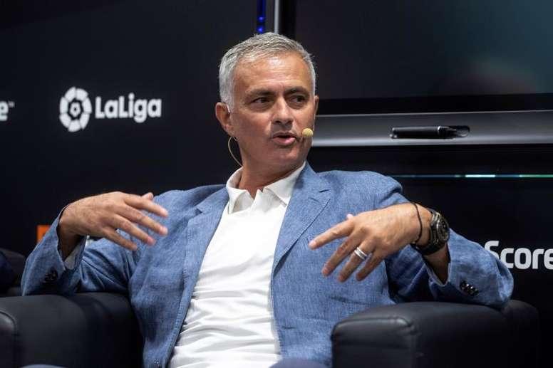 Mourinho diz não ao Olympique de Lyon. EFE/Rodrigo Jiménez