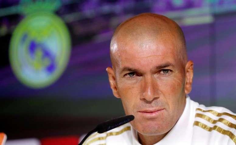 Zidane a lancé un message d'optimisme. EFE