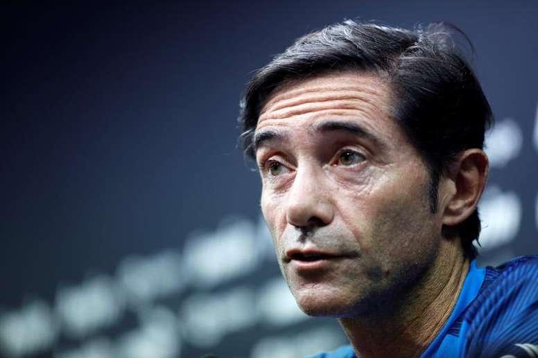Marcelino pode ser o próximo técnico do Milan. EFE/Juan Carlos Cardenas