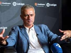 Mourinho, novo técnico do Tottenham. EFE/ Rodrigo Jiménez