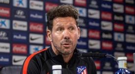 Simeone dejó claro que Correa es importante para el Atlético. EFE