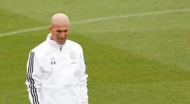 Zidane deixa 305 milhões de euros no banco de reservas. EFE/Chema