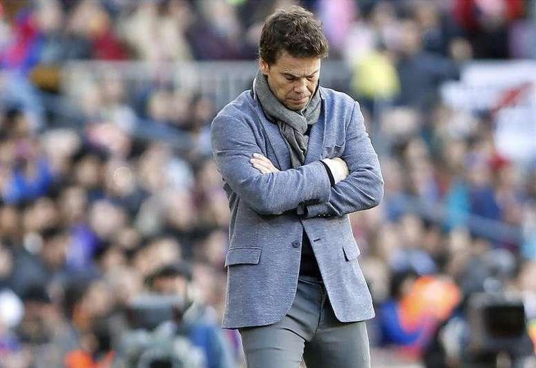 A Rubi se le acaba el tiempo en Sevilla. EFE