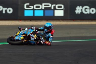 El piloto español de Moto2 Alex Marquez. EFE/TIM KEETON