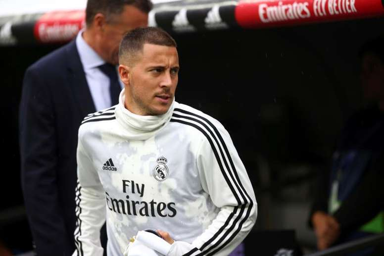 Hazard has a big stage to try and return to top form. EFE