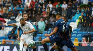 Les compos probables du match de Liga entre Levante et le Real Madrid. EFE