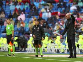 Zidane's explanation about the changes he made: Ramos and Casemiro. EFE