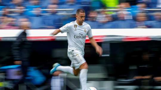 Hazard is already feeling the Champions League 'buzz'. EFE