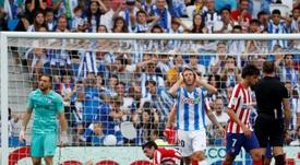 Monreal analizó el partido entre Real Sociedad y Valencia. EFE/Juan Herrero