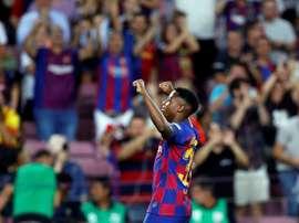 Les chiffres de l'offre de prolongation du Barça à Ansu Fati. EFE