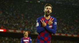 Un punto separa al Barcelona del Real Madrid. EFE