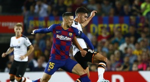 Ferrán está perto do Borussia. EFE/Enric Fontcuberta