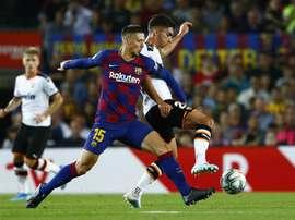 Le groupe du Barça pour affronter Leganés en Liga. AFP