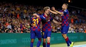 Filtrada la camiseta del Barcelona de la temporada 2020-21. EFE