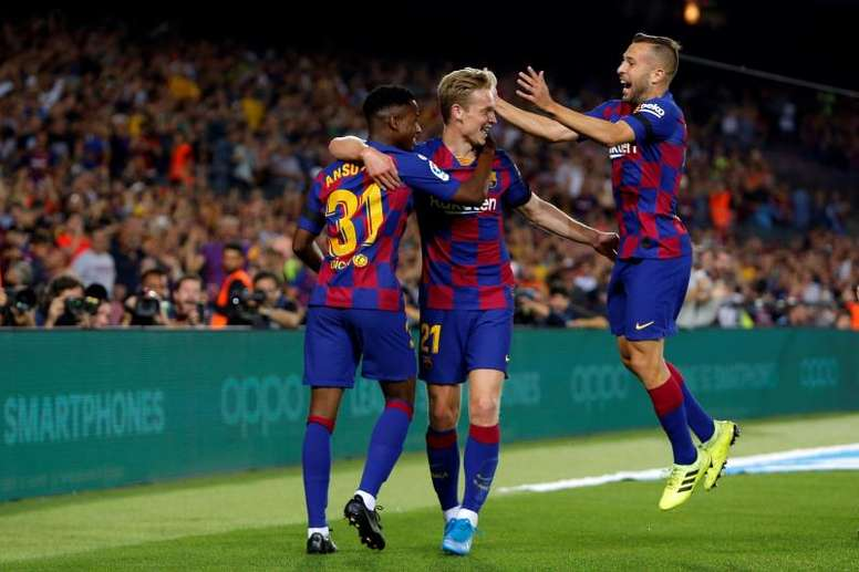 Le Barça domine Valence grâce au surdoué Ansu Fati. AFP