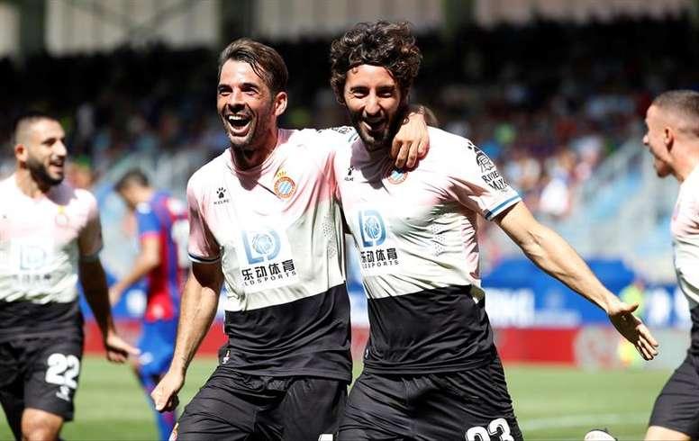 El Espanyol estrena su casillero de victorias. EFE
