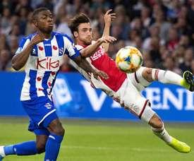 Tagliafico fait le show contre Heerenveen. EFE