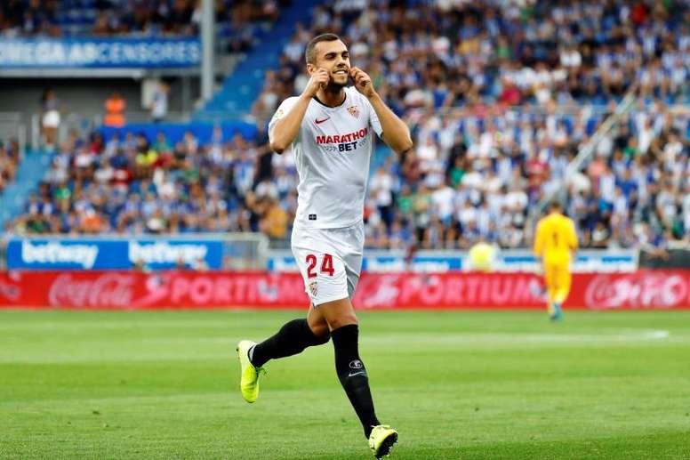 Jordán ve al Sevilla listo para la Supercopa de Europa. EFE