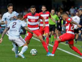 La afición del Celta podrá acompañar a su equipo a Granada. EFE