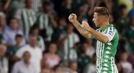Joaquín se igualou a Sanchís. EFE/Jose Manuel Vidal