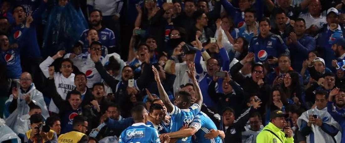 Nueva victoria de Millonarios. EFE