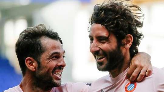 El Espanyol toma aire con su triunfo. EFE