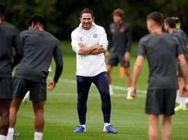 Lampard no se fía de la crisis institucional del Valencia. EFE
