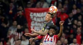 L'Atlético n'est pas pressé. EFE