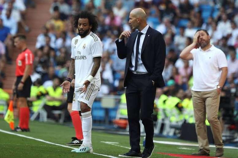 Marcelo et Vinícius ne se sont pas entraînés ! efe