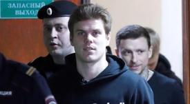 Kokorin se reincoporó al Zenit tras pasar por la cárcel. EFE