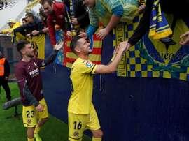 La media del Villarreal es de dos goles por partido. EFE