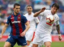 El Eibar acumula dos empates y dos derrotas en casa 'granota'. EFE