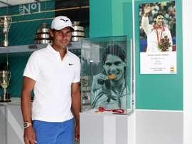 Rafa Nadal es uno de los mejores deportistas españoles. EFE
