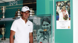 Rafa Nadal will miss the Mallorca versus Real Madrid match. EFE