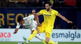 El Mirandés eliminó al Villarreal de la Copa. EFE