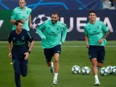 Karim será le líder del Real Madrid en París. EFE