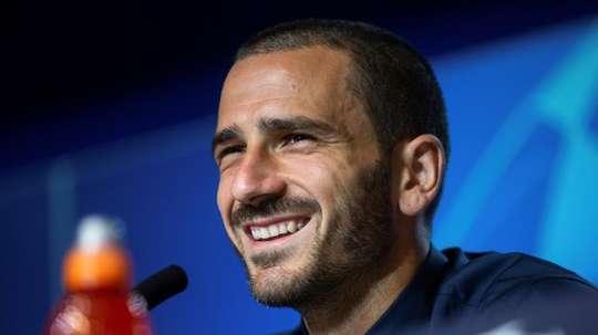 Bonucci coloca sua seleção atrás de Espanha, França e Alemanha. EFE/Rodrigo Jiménez