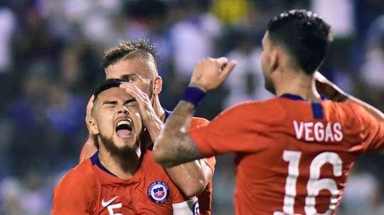 Le Chili jouera contre la Colombie en Espagne. EFE