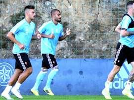 Rafinha pourra jouer face au Betis. EFE
